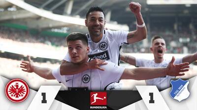 Marco Fabián luce en empate del Frankfurt ante Hoffenheim