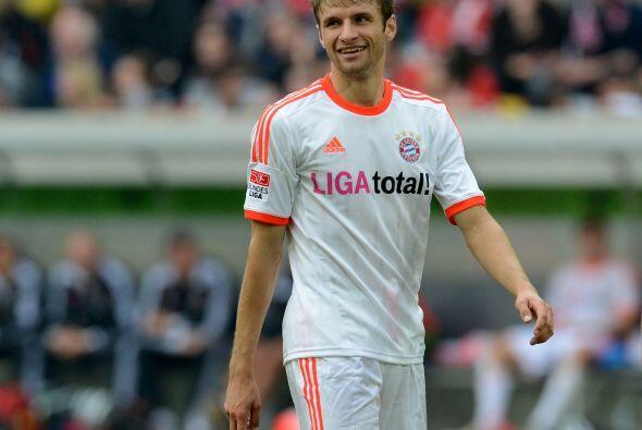 Ya que mencionamos antes al Bayern Munich, contamos con otro jugador de...