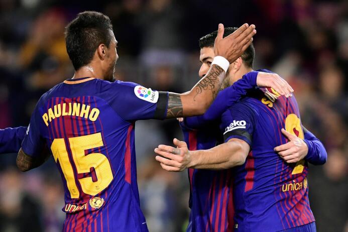 En fotos: Barcelona goleó a La Coruña y se mantiene sólido en el liderat...
