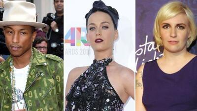 Las celebridades mostraron su indignación en redes sociales