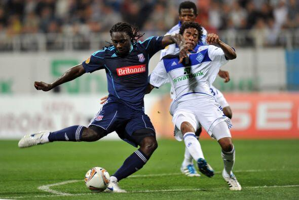 El Stoke City inglés viajó a Kiev para chocar ante el Dínamo.