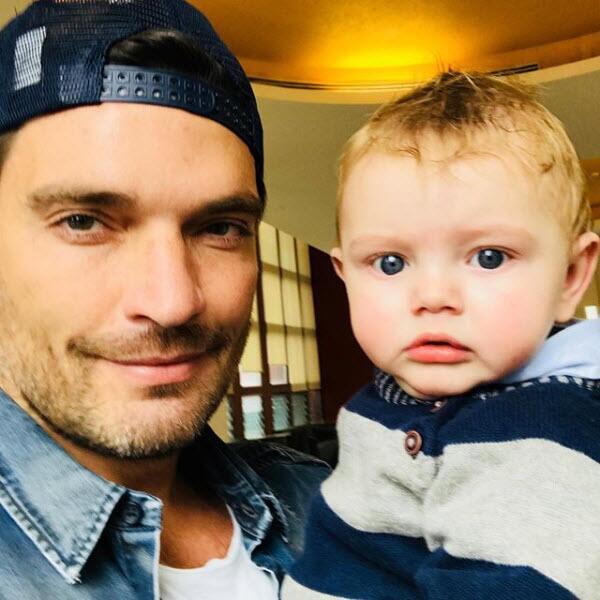 Julian Gil y su hijo Matías
