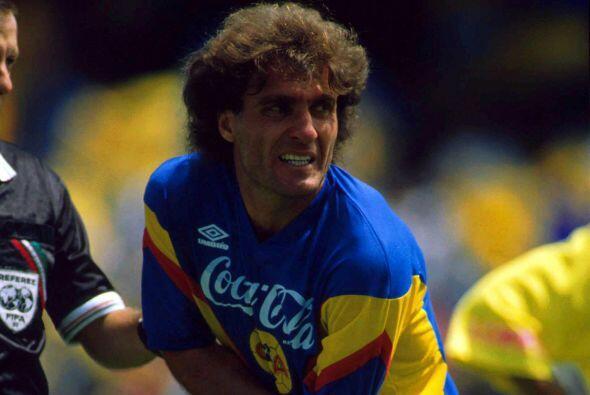 Oscar Ruggeri, el argentino brilló en la defensa del Améri...
