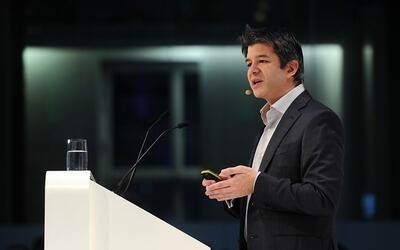 El CEO y fundador de Uber, Travis Kalanick, era uno de los miembros del...