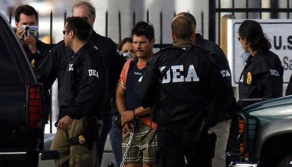 Arresto de Francisco Javier Arellano Félix, alias 'El Tigrillo',...