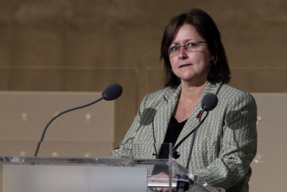 Kayla Bergeron q  uien   fue Jefa de   Asuntos Públicos   y   Gub...