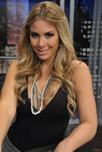 Elizabeth López ya es una cara muy conocida en la cadena de televisión T...
