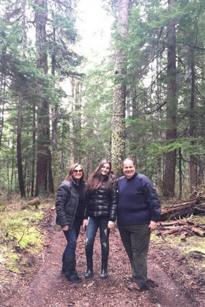 El Gordo de Molina se fue con Milly y Mía a Canadá, a disfrutar de unas...