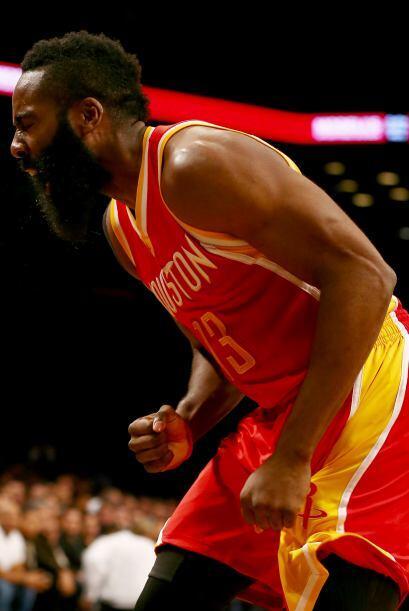 12 de Enero - Rockets (27-11) ganan 113 - 99 a Nets (16-22). James Harde...
