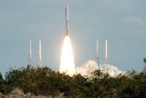 New Horizons desde el Centro Espacial Kennedy en Florida.