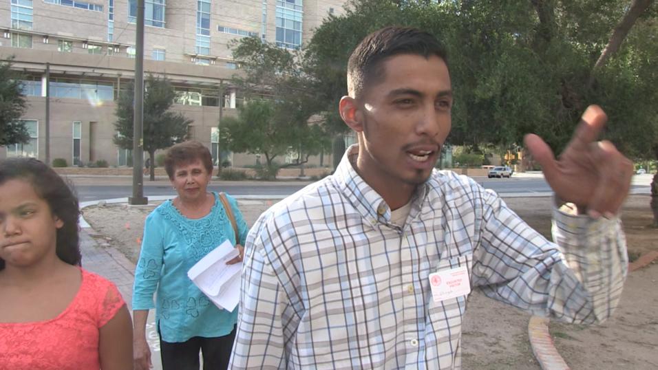 """Un video """"es la clave"""" en un juicio por el asesinato de un mexicano en e..."""