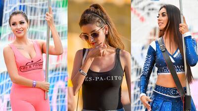 Sábado de bellas fanáticas y porristas en la jornada 12 del Apertura 2018