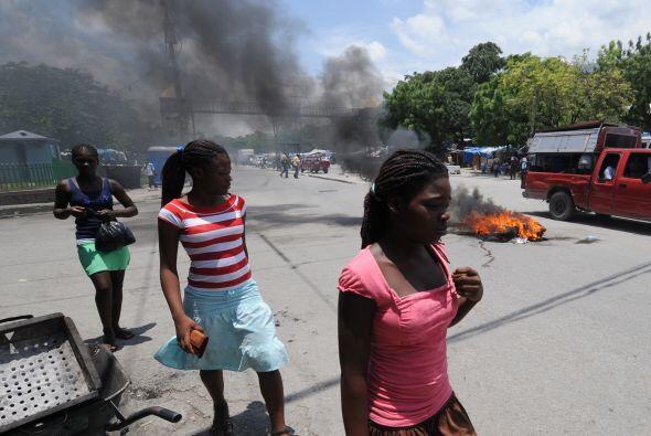 La reconstrucción en Haití ha sido escasa cuando han trans...