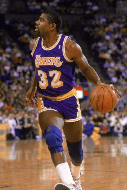"""Earvin """"Magic"""" Johnson Jr. fue contratado por los Los Angeles Lakers de..."""