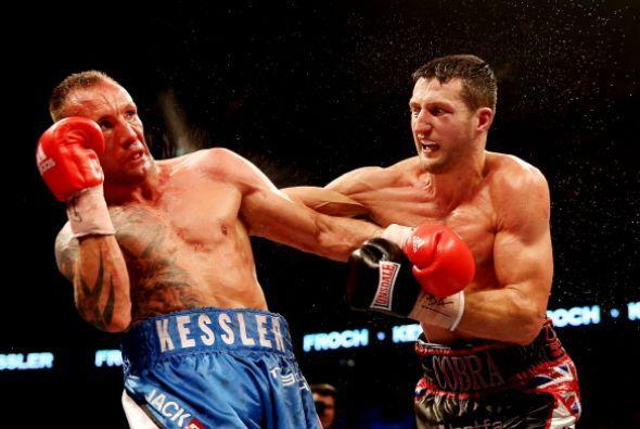 Kessler falló en la defensa, pero también ofendió de buena manera.