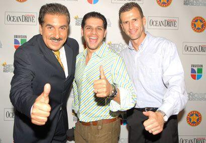 El presidente Fiore con Rafa Mercadante y Félix ya sabían lo bien que lo...