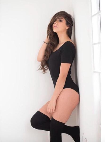 Michelle Pérez, una fanática muy sexy del Cruz Azul Captura de pantalla...