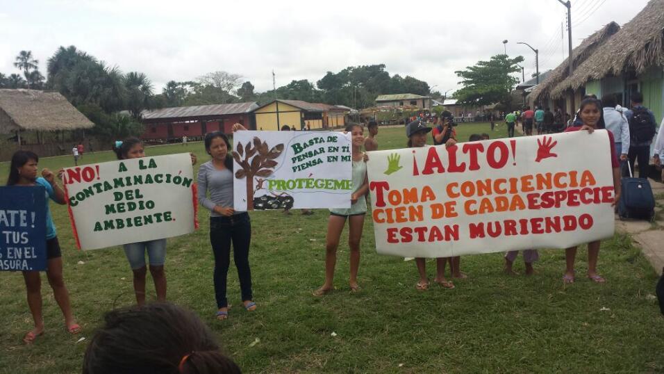 Foto de comunidad Nueva Alianza-Urarinas
