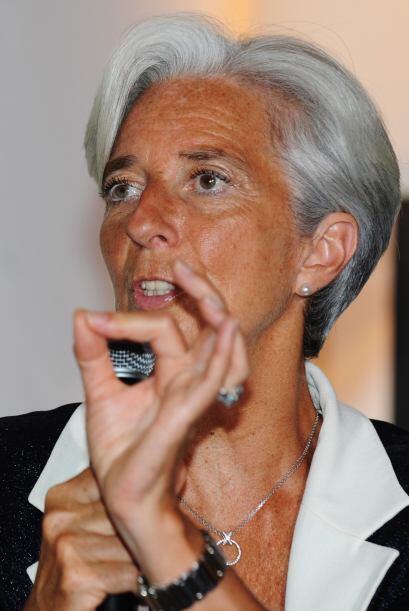 La funcionaria francesa se encuentra de gira promocionando su candidatur...