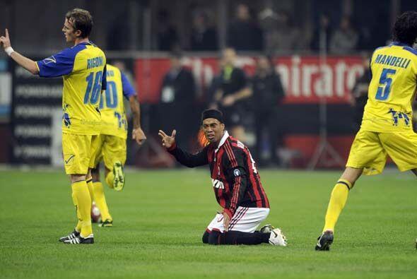 El cuadro 'rossonero' lo intentaba todo el tiempo pero simplemente no co...
