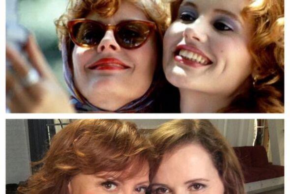 La selfie de Thelma y Louise 20 años después.