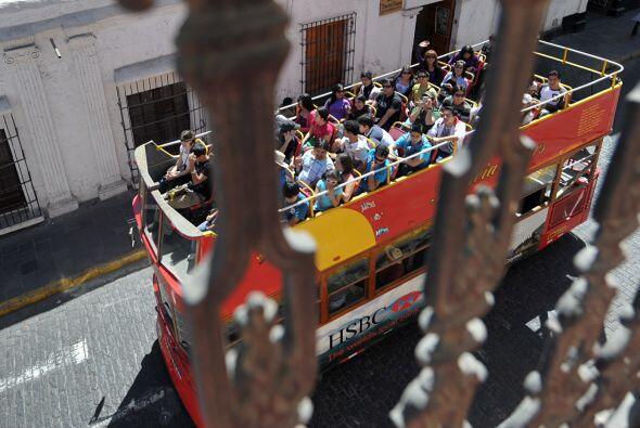Es ésta la fiesta más importante del lugar, a 1600 kms de Perú.