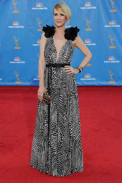 Kristen Wiig insiste en hacernos reír ¡hasta en las alfombras rojas! si...