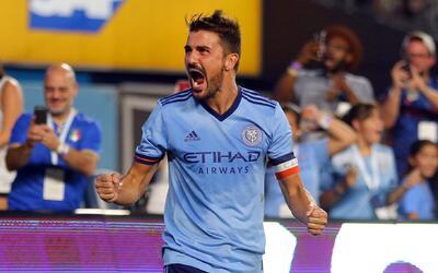 David Villa, imagen de otro gran triunfo de NYCFC en la temporada regular.