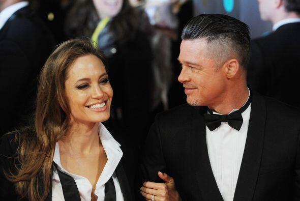 En esta ocasión este par fue sorprendido arribando a los Premios Bafta....