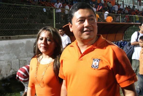 Wilfredo Salgado, Presidente del Deportivo Aguila decidió vender al equi...
