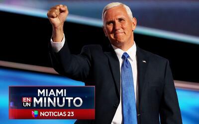 'Miami en un Minuto': Mike Pence y Rex Tillerson inauguraron la Conferen...