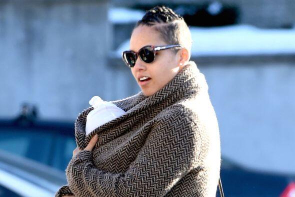 Alicia Keys es una mami encantadora.