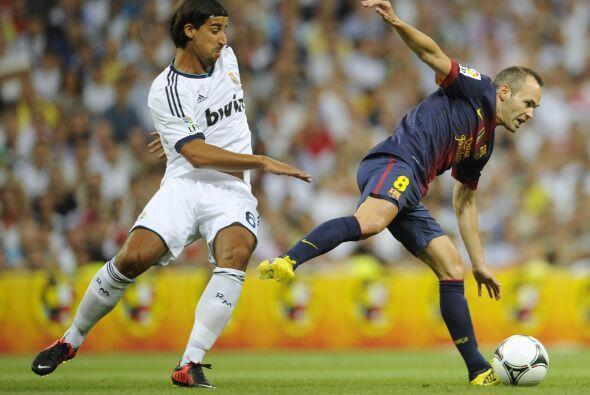 Iniesta fue de los culpables de que Barcelona pudiera reaccionar, pero n...