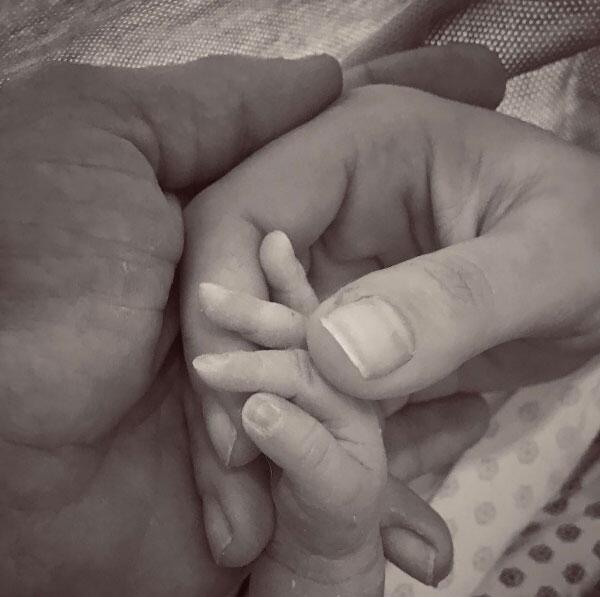 Los tres, de manos, el pasado 27 de enero en un hospital de la Ciudad de...