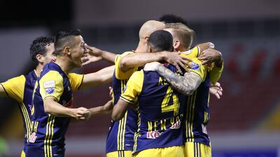 En fotos: Red Bull y Olimpia igualaron en octavos de la Liga de Campeones de Concacaf