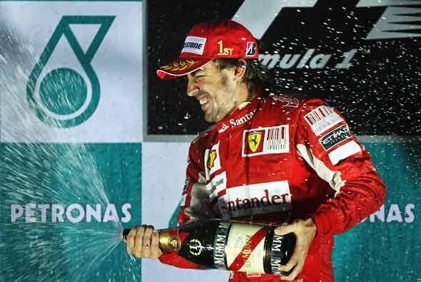 El piloto español tiene ahora 11 puntos de ventaja sobre Webber a falta...