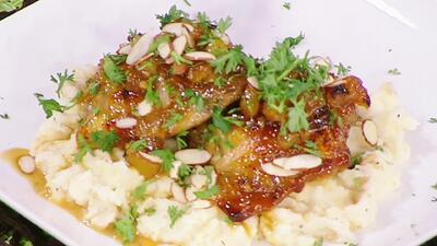 Cena deliciosa y económica: prepara un pollo con salsa de durazno, para 4 personas, por menos de $15