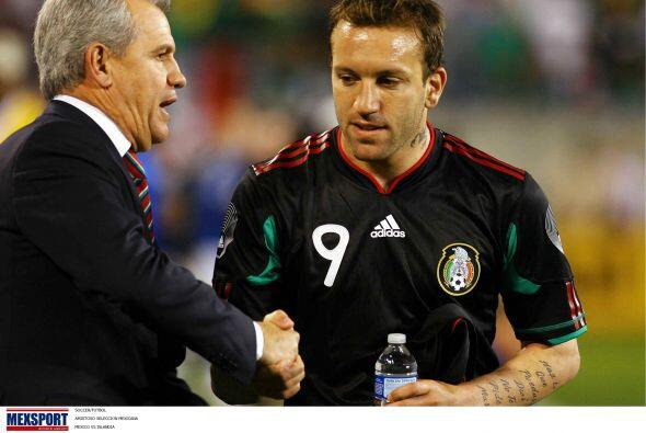 Para Sudáfrica 2010, Matías Vuoso atravesaba un buen momento en la Liga...