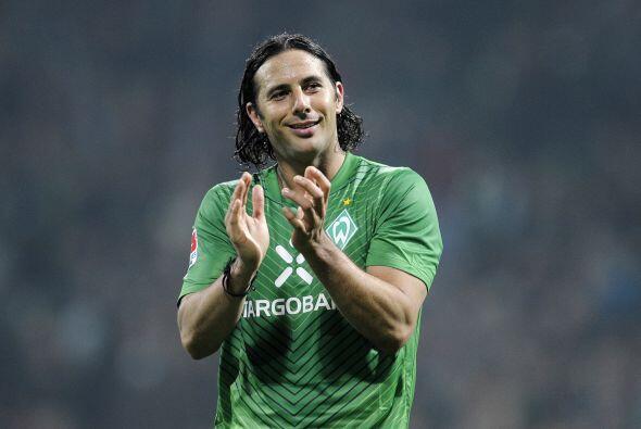 Después tenemos al peruano Claudio Pizarro.
