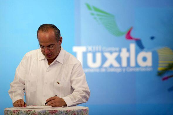 El Ejecutivo mexicano además pidió actualizar los esquemas de cooperació...