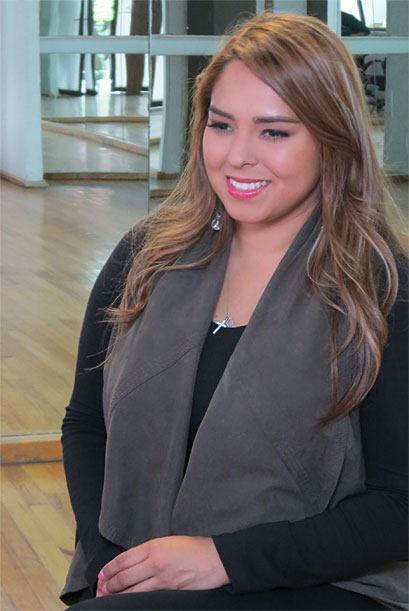 Vivian sufrió en las audiciones porque fue la última participante en pasar.