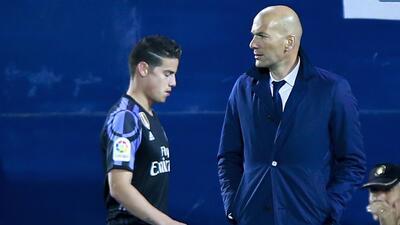 James y Zidane, la 'novela' del Real Madrid que mueve al mundo del fútbol