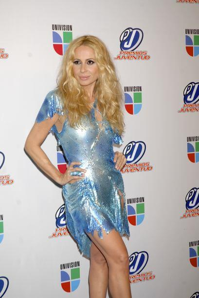 ¿Qué le ocurrió a Martha Sánchez? Su vestido parece que sobrevivió a un...