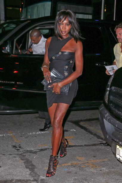 Naomi Campbell saltó a la fama de las pasarelas gracias a sus espectacul...