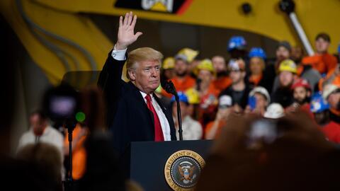 El presidente Trump ha convertido la inmigración en tema central...