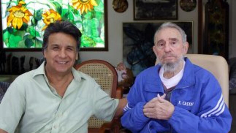 El vicepresidente de Ecuador, Lenín Moreno se reunió en La Habana, con e...