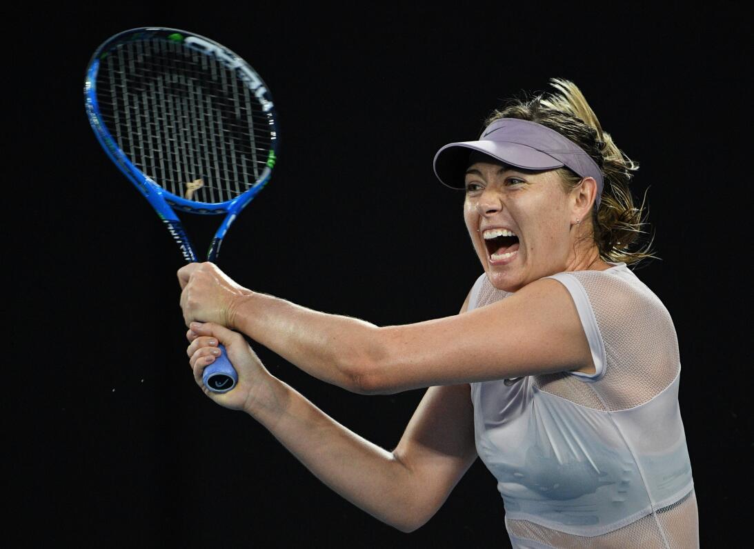 Maria Sharapova: la hermosa tenista rusa aceptó en el 2015 haber dado po...