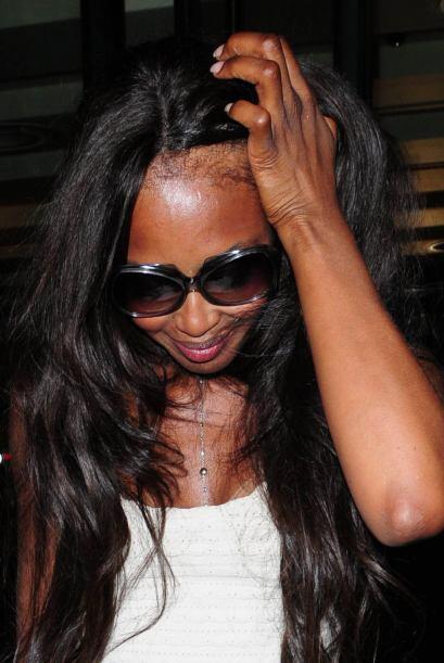 La supermodelo Naomi Campbell  es otra famosa que a través del paso del...