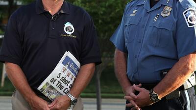 Le roban arma de reglamento a policía y las autoridades prefirieron no dar comentarios