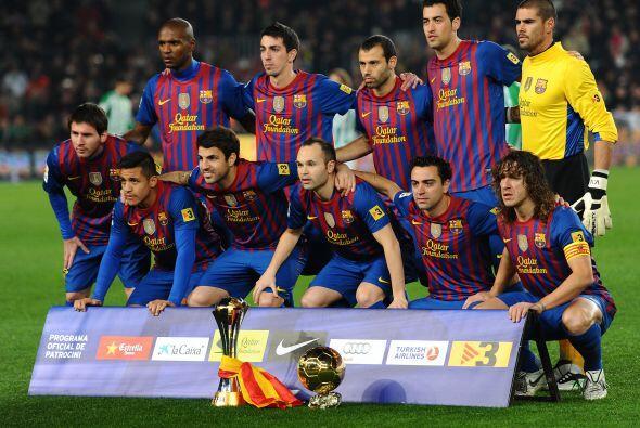 Barcelona encaró su partido de la fecha 19 de la Liga espa&ntilde...